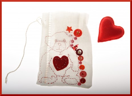 Calendrier de l'avent collectif,nol,ours,broderie,Salon Marie Claire Ides, concours,Mcenat Chirurgie Cardiaque